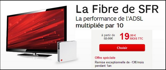 le haut d bit en promo chez sfr la box starter fibre seulement. Black Bedroom Furniture Sets. Home Design Ideas