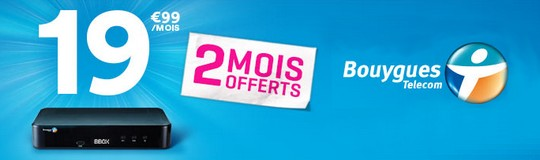 bbox partir de deux mois offerts prolong s chez bouygues telecom. Black Bedroom Furniture Sets. Home Design Ideas