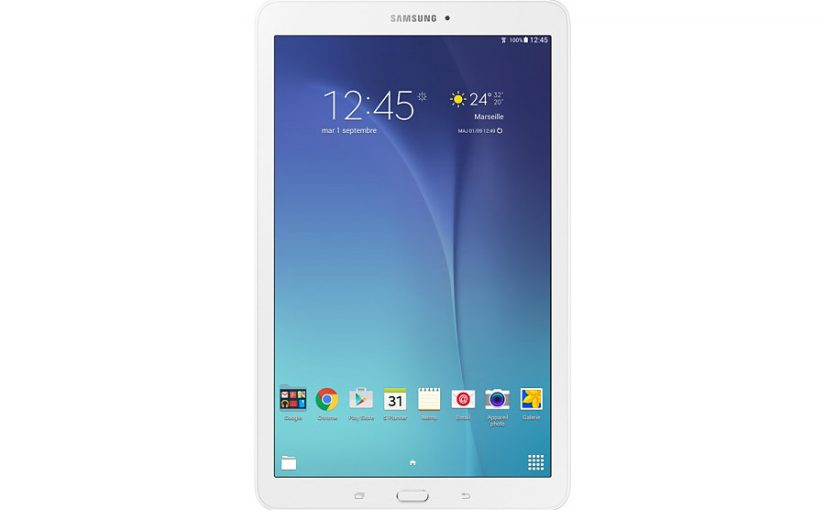 sfr offre une tablette samsung galaxy tab e ses nouveaux clients fibre ou adsl. Black Bedroom Furniture Sets. Home Design Ideas