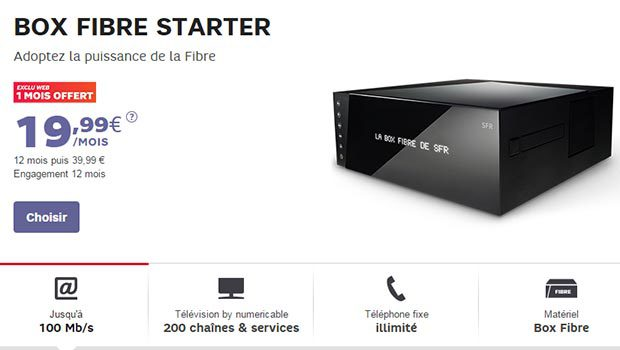 box starter de sfr un abonnement fibre adsl tarif r duit pour conomiser. Black Bedroom Furniture Sets. Home Design Ideas