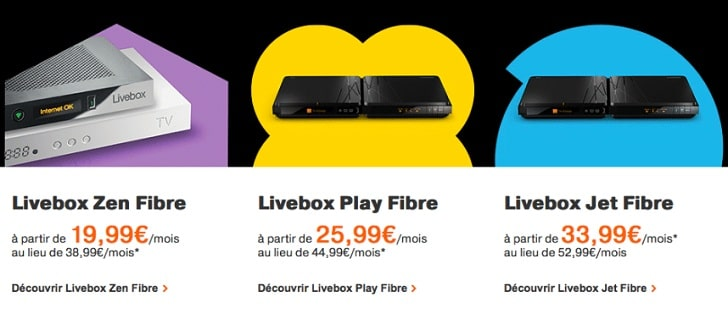 box internet fibre les promotions de la rentr e ne pas rater chez orange. Black Bedroom Furniture Sets. Home Design Ideas