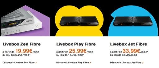 orange les promotions sur les abonnements fibre sont. Black Bedroom Furniture Sets. Home Design Ideas