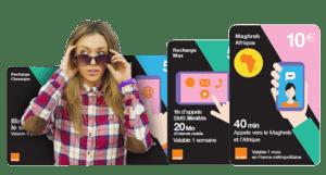 Carte SIM prépayée Orange : Toute l'offre de recharges Mobicarte