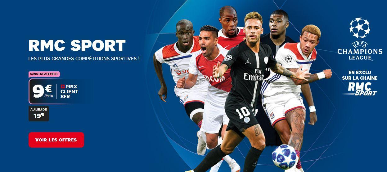 Bouquet Sport A Petit Prix Profitez Des Promotions Rmc Sport Et Bein Chez Sfr Et Bouygues