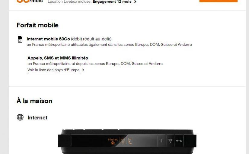 Box Forfait Mobile Avec Un Gros Volume De Data Comparatif Des