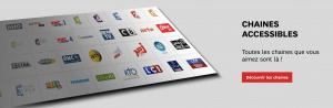 SFR TV : liste des chaînes gratuites actuellement