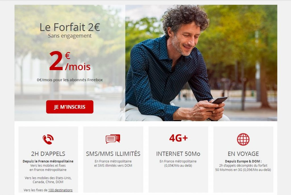 Forfait Free Telecom