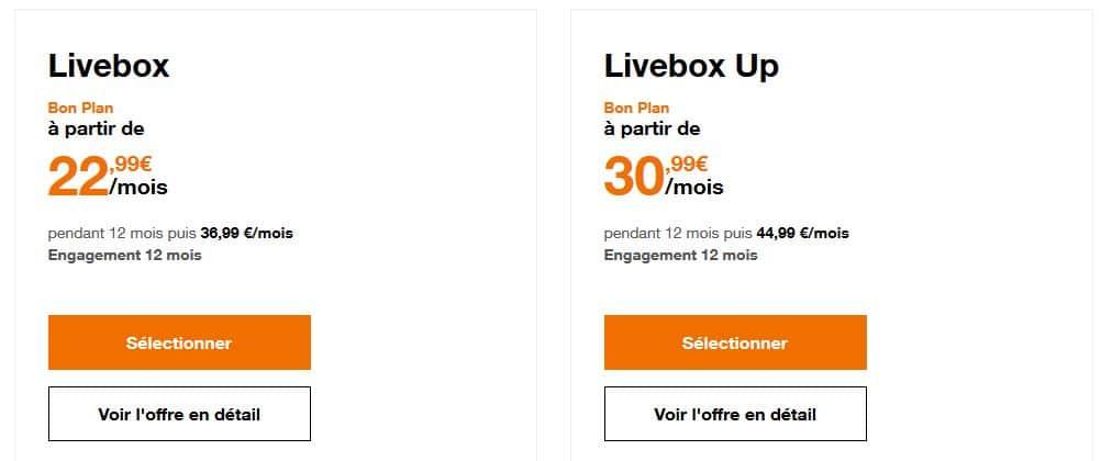Offres Orange - ADSL