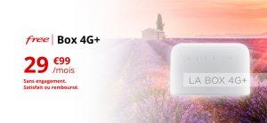 Offre box 4G Free