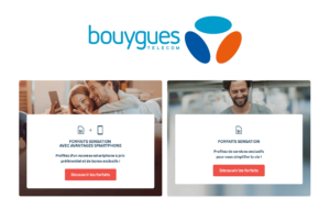 Forfaits Bouygues Sensation