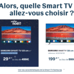 Taille Smart TV 4K