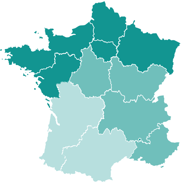 carte La couverture 5G en France