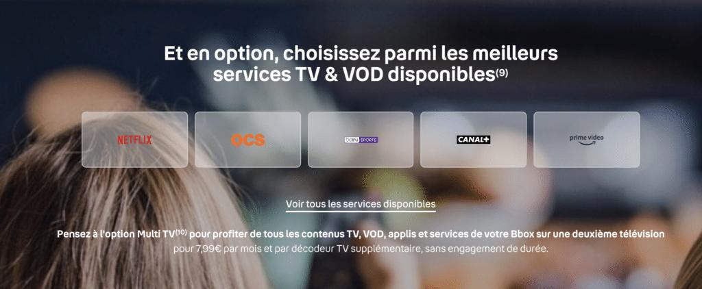 Option VOD Bouygues