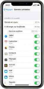 iphone estimation data