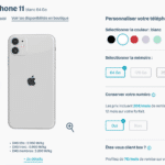 offre odr iphone 11 Bouygues